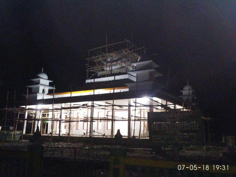 masjid Ronting isya