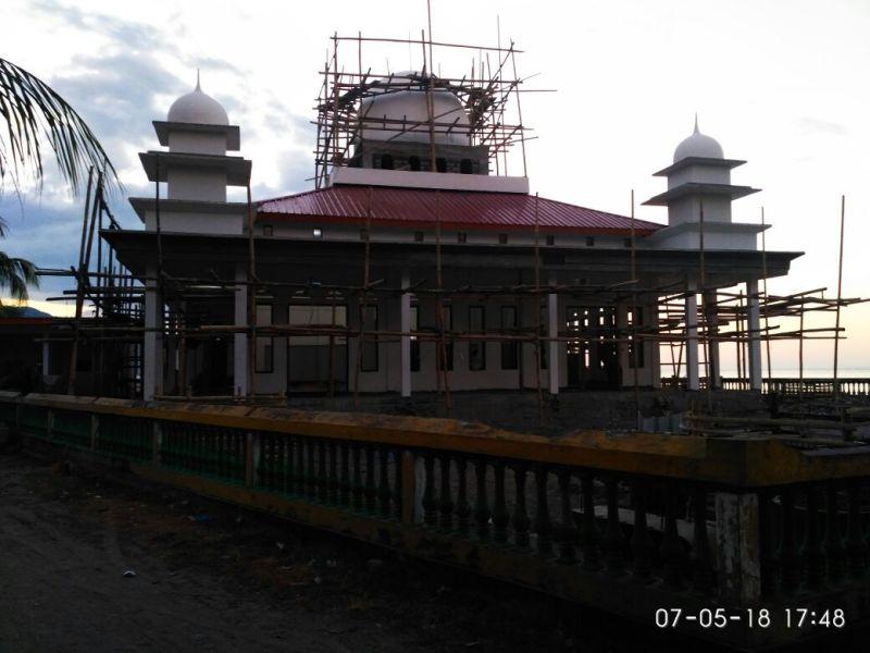 masjid Ronting maghrib