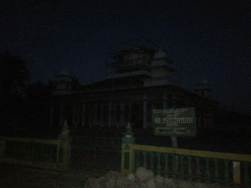 masjid Ronting subuh