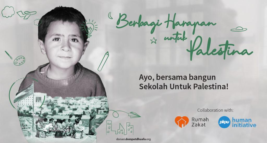 Berbagi Harapan untuk Palestina