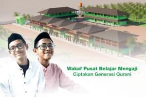 Wakaf Pusat Belajar Mengaji Dompet Dhuafa
